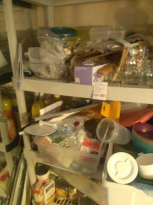 Dining Room Shelf - After