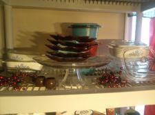 Dining Room Shelf - Before